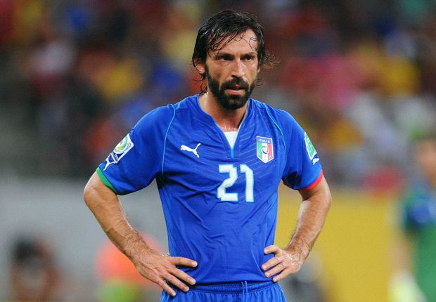 Pirlo angry at Italy