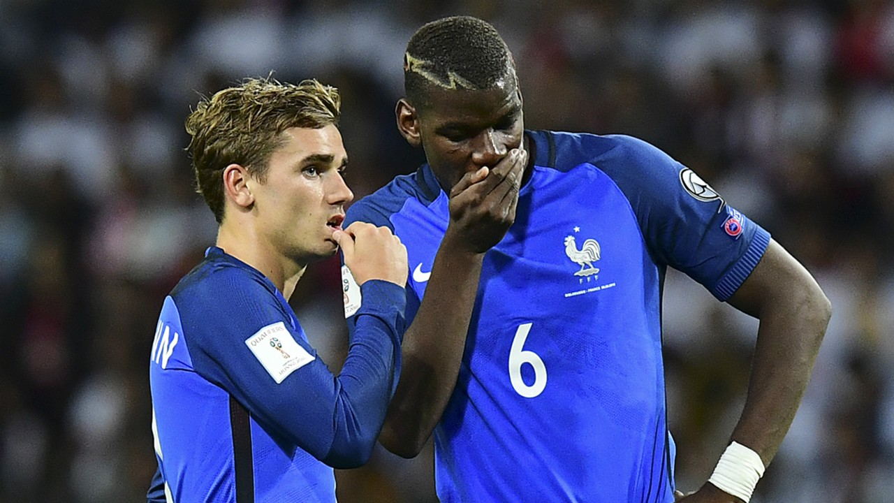 Pogba: France are not favorites