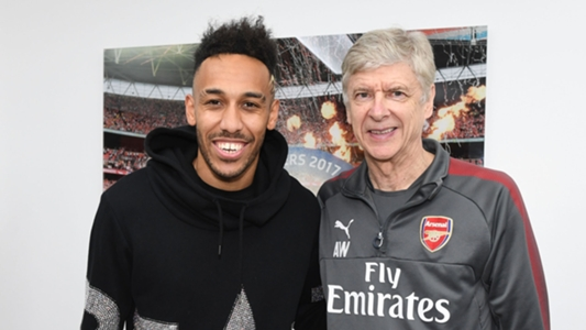 Aubameyang: I am here because of Wenger