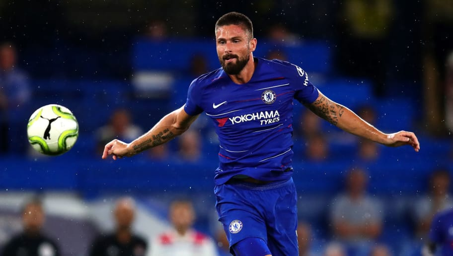 Hazard and Giroud start as Chelsea parade line up for BATE test