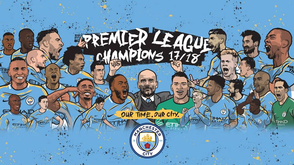 Image result for premier league winners 2018