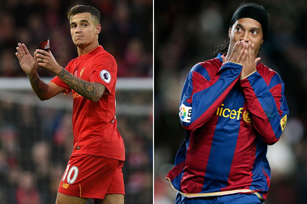 Ronaldinho: Coutinho is perfect for Barcelona