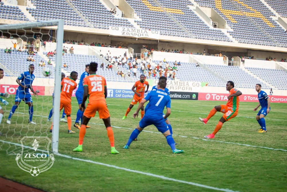Dynamo deny Zesco's Kenyan trio of league top spot