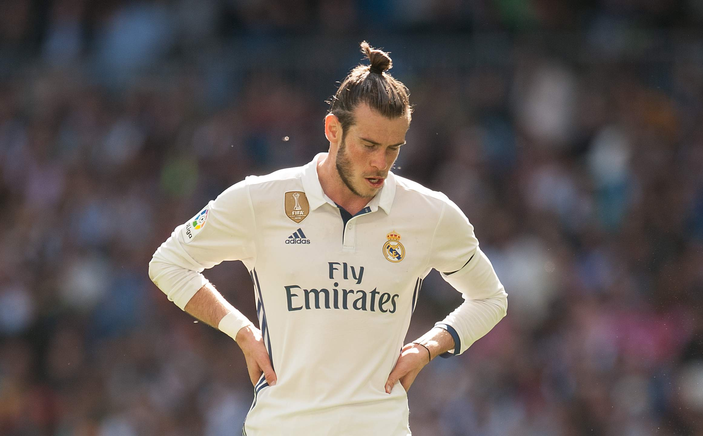 Real Madrid explains Bale withdrawal in Madrid Derby