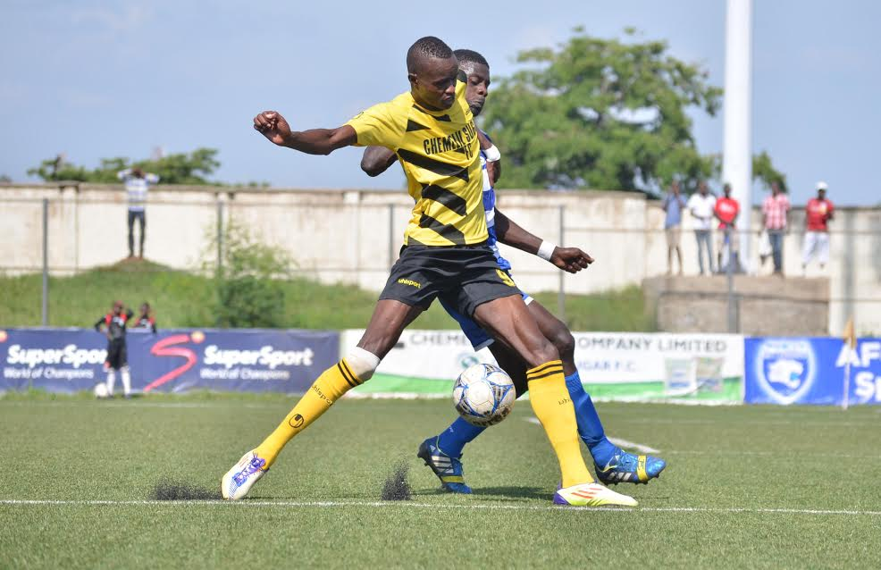 Rude welcome for Apollo as Chemelil crashes Tusker