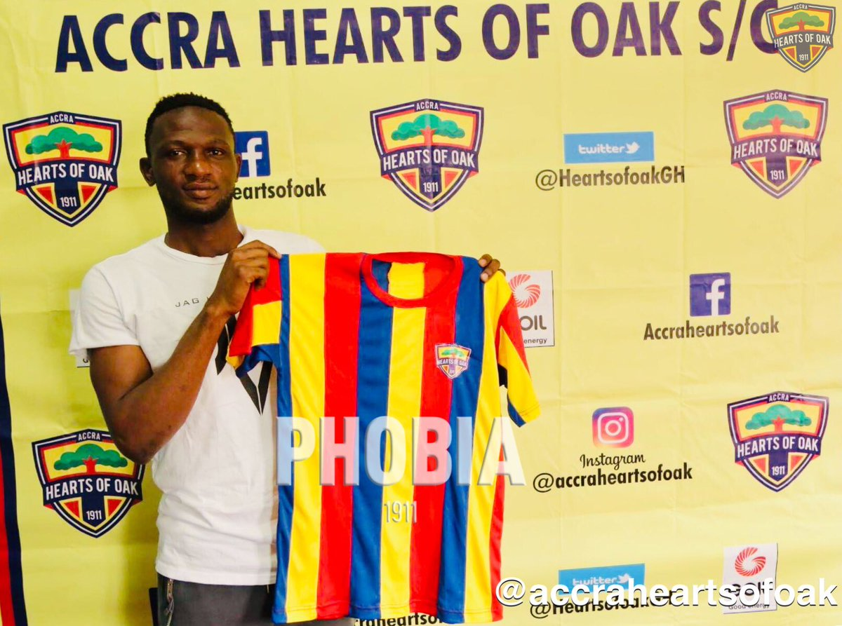 Hearts of Oak Sign former WAFA skipper Alhassan