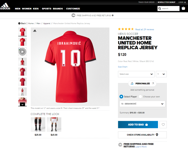 e47b8383d OOPS! Zlatan s jersey number revealed