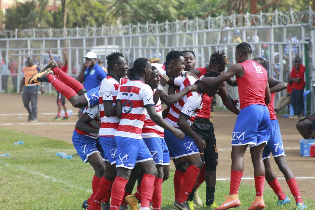 Fosa Juniors rally to hold Leopards in Bukhungu