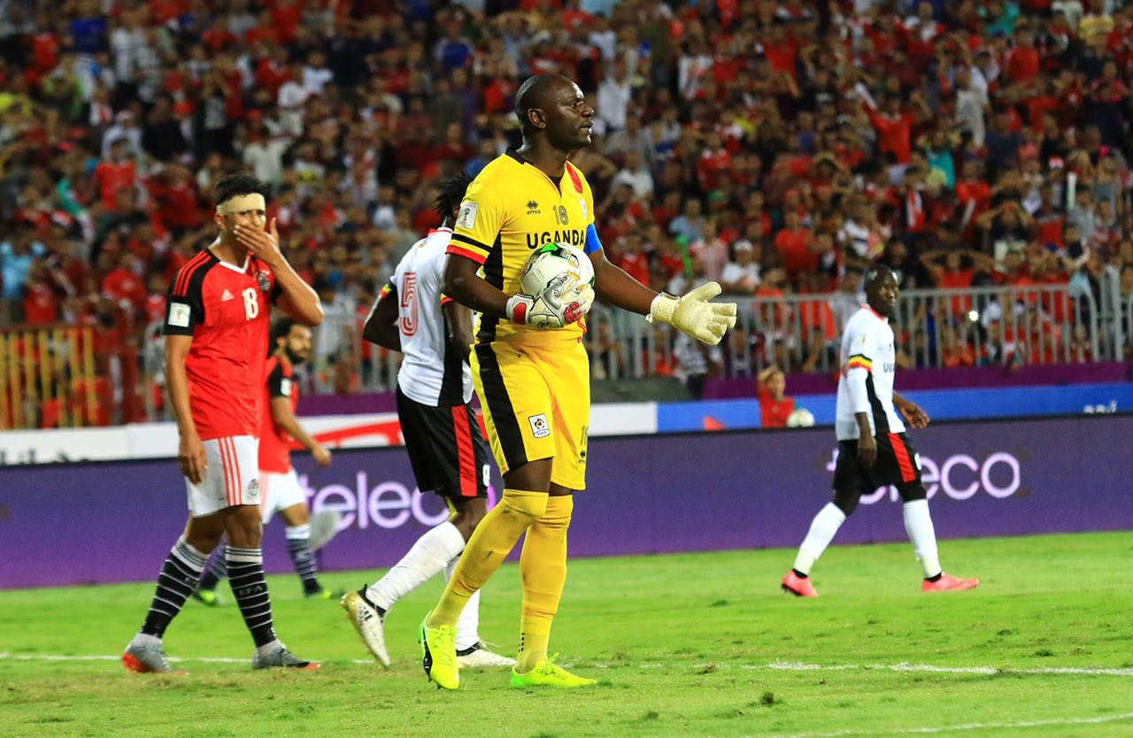 Denis Onyango emerges best goalkeeper in the 2018 World Cup qualifiers