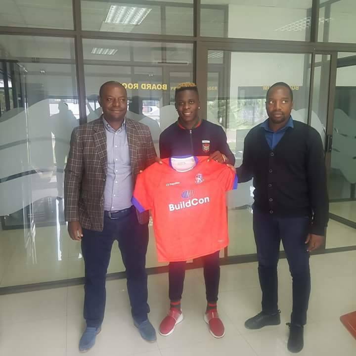 Official: Chisamba joins Buildcon