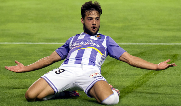 Done deal: Barca land Valladolid winger