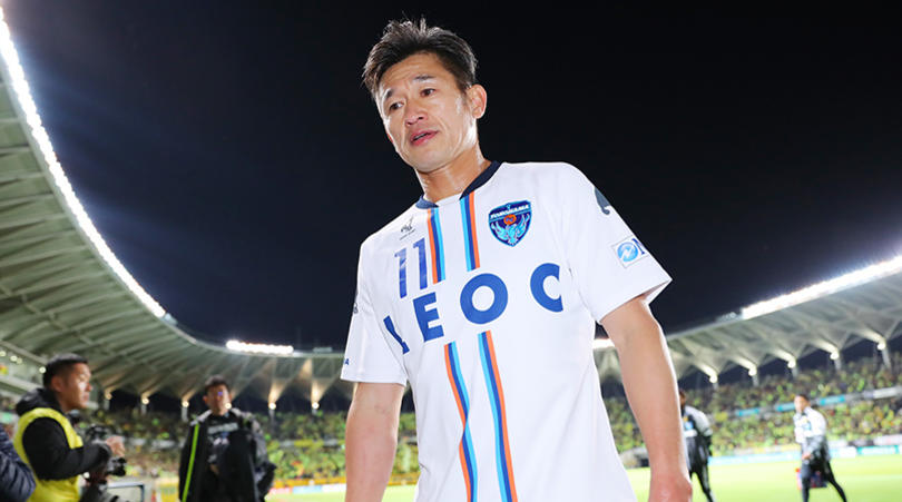 Meet the 51-year old striker, King Kazu!