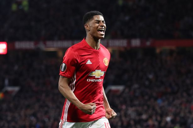 huge discount 17665 fe0d8 Mourinho: Rashford deserves number 10 jersey