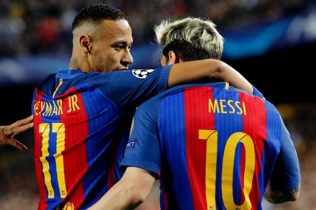 Image result for Neymar and Messi