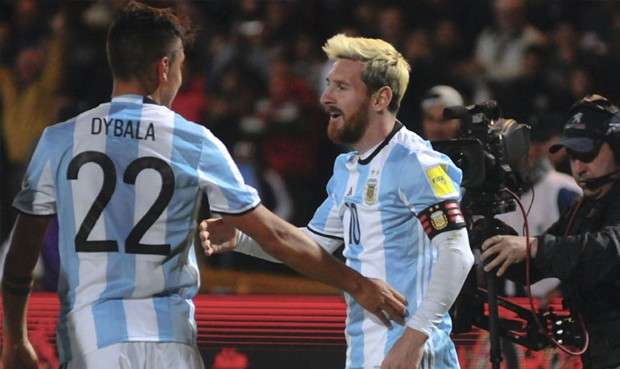 Argentina wants Messi to play less