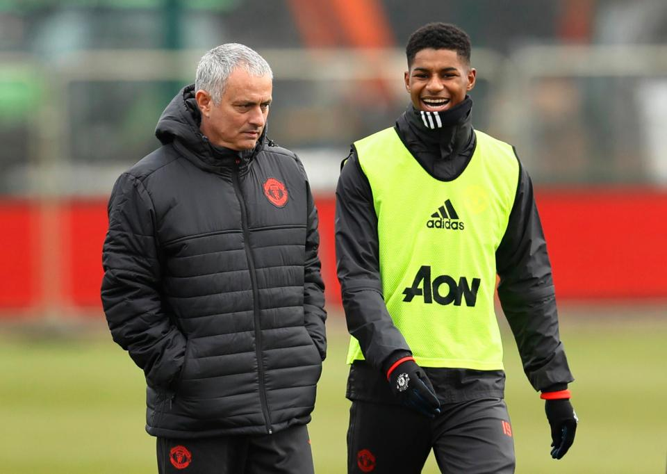 Rashford: I am learning the most during training