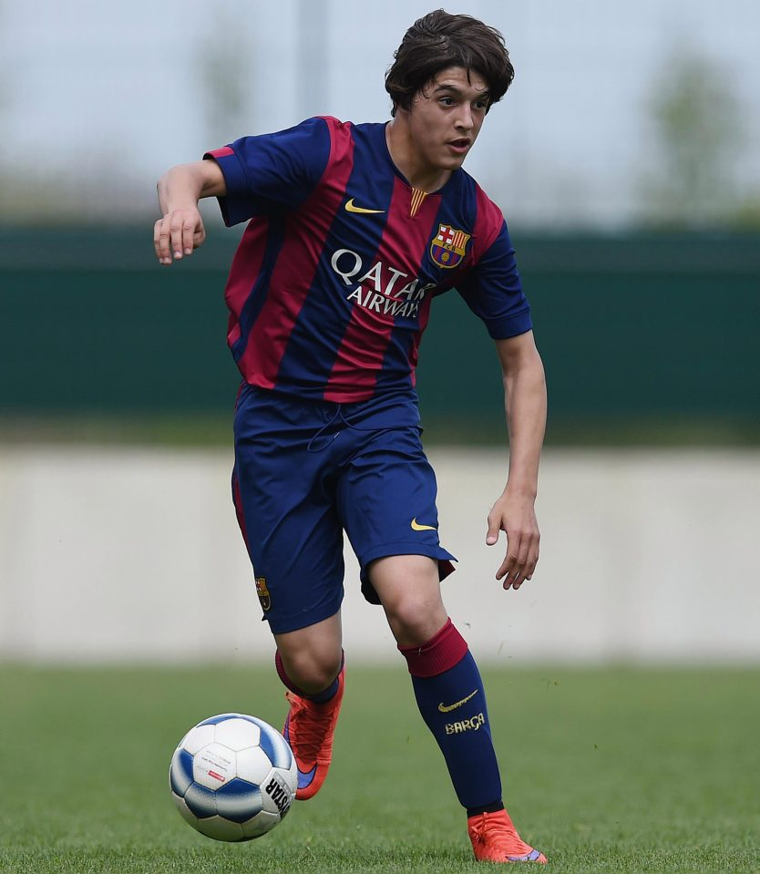 The Manchester clubs battle for Barcelona teenager
