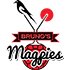 Bruno's Magpies-logo