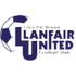 Llanfair United-logo